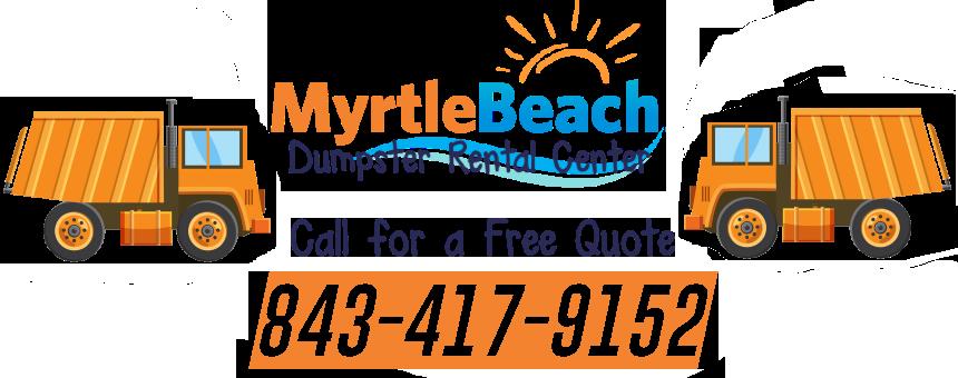 Myrtle Beach dumpster rental service